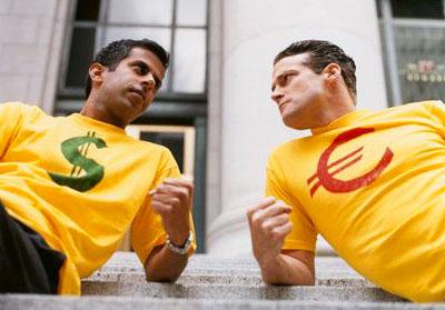 Пара евро доллар сша в течение дня в