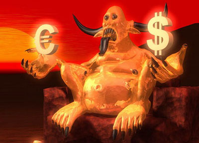 Форекс. Рост пары евро/доллар США, видимо, остановился
